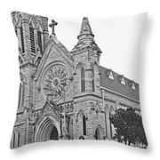 St. Mary Cathedral Throw Pillow