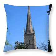 St Mary The Virgin Ross-on-wye Throw Pillow