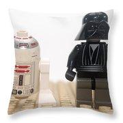 Star Wars Action Figure  Throw Pillow