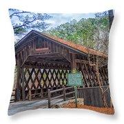 Stone Mountain Park In Atlanta Georgia Throw Pillow