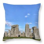 Stonehenge - England Throw Pillow