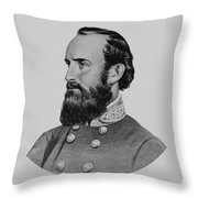 Stonewall Jackson - Six Throw Pillow