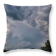 Storm Cell Throw Pillow