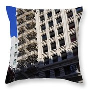 Street Photography Throw Pillow