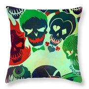 Suicide Squad 2016 Throw Pillow