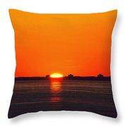 Sun Crown Two  Throw Pillow