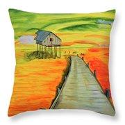 Sunrise /sunset Throw Pillow