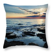 Sunset At Basanija Throw Pillow