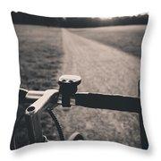 Sunset @park Throw Pillow