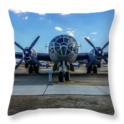 Superfortress Throw Pillow