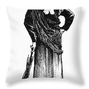 Susan B. Anthony (1820-1906) Throw Pillow