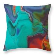 Swirm Throw Pillow