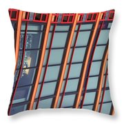 Tall Building Showing Colors #2 Throw Pillow