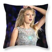 Taylor Swift Throw Pillow