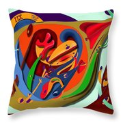 Tempus Fugit Throw Pillow