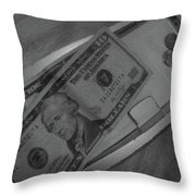 2 Tens 1 Dime 1 Penny  2011  Throw Pillow