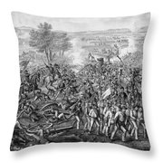 The Battle Of Gettysburg Throw Pillow