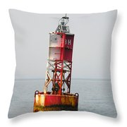 The Bell Buoy Throw Pillow