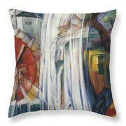 The Bewitched Mill Throw Pillow