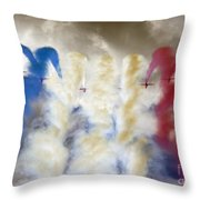 The Big 9 Throw Pillow