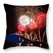 the Blue Angels US Navy    Throw Pillow