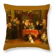The Census Throw Pillow