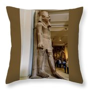 The Egyptian Museum Of Antiquities - Cairo Egypt Throw Pillow