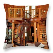 The Fontanel Mansion Farm The Former Home Of Barbara Mandrell Outside Nashville, Tennessee Throw Pillow