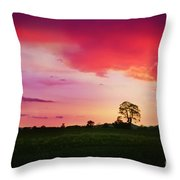 The Holy Tree Throw Pillow
