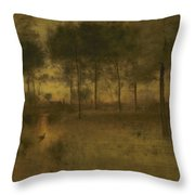 The Home Of The Heron Throw Pillow