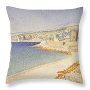 The Jetty At Cassis Opus 198 Throw Pillow