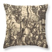 The Lamentation Throw Pillow