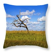 The Last One Standing Throw Pillow