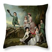 The Lavie Children Throw Pillow