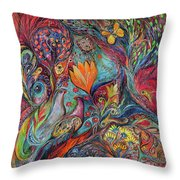The Magic Garden Throw Pillow
