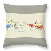 the Netherlands  3D Throw Pillow