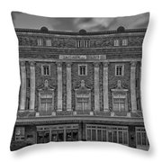The Perot Theatre Throw Pillow