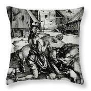 The Prodigal Son Throw Pillow