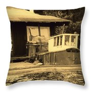 The Retreat Throw Pillow