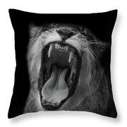 The Roar Throw Pillow