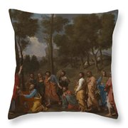 The Sacrament Of Ordination Throw Pillow