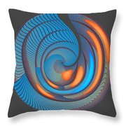 The Seventh Opinion Top View Throw Pillow