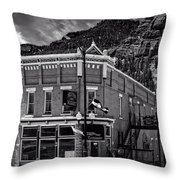 The Silver Nugget Restaurant Throw Pillow