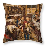 The Tax Collectors Office  Throw Pillow