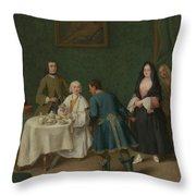 The Temptation Throw Pillow