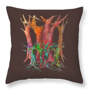 They Came To Me At Dawn Throw Pillow