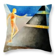 Thoth The Atlantean Throw Pillow