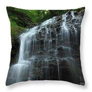 Tiffany Falls Throw Pillow