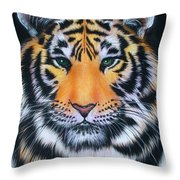 Tiger 1 Throw Pillow