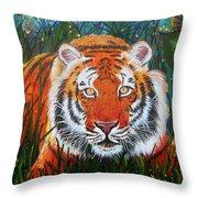 Tiger- Large Work Throw Pillow